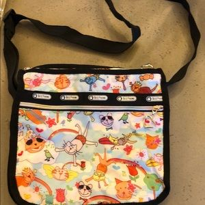 NWOT Lesportsac Best Friend Cat Satchel